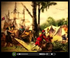Colonial America - Watch this short video clip